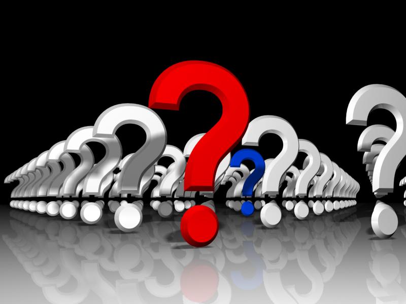Mehrere Fragezeichen hintereinander